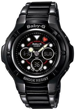 Японские наручные  женские часы Casio BGA-124-1A. Коллекция Baby-G