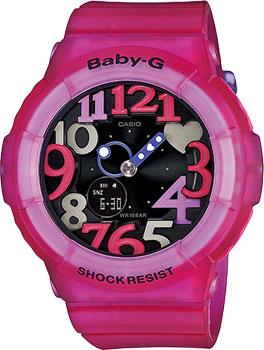 Японские наручные  женские часы Casio BGA-131-4B4. Коллекция Baby-G