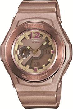 Японские наручные  женские часы Casio BGA-141-5B. Коллекция Baby-G