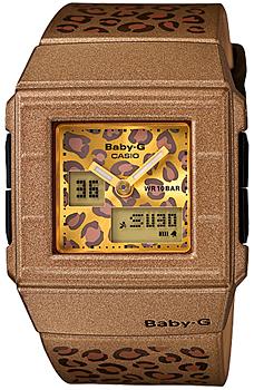 Японские наручные  женские часы Casio BGA-200LP-5E. Коллекция Baby-G