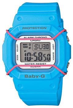 Японские наручные  женские часы Casio BGD-501-2E. Коллекция Baby-G