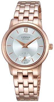 Японские наручные  женские часы J. Springs BLD019. Коллекция Sapphire Dress Ladies