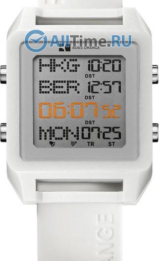 Мужские наручные fashion часы в коллекции Цифровые Boss Orange