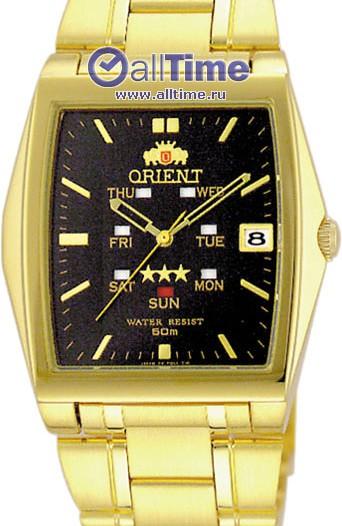 Мужские японские наручные часы в коллекции 3 Stars Golden Orient