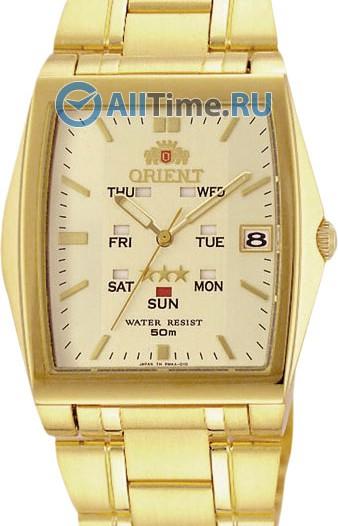 Мужские японские наручные часы в коллекции 3 Stars Steel Orient