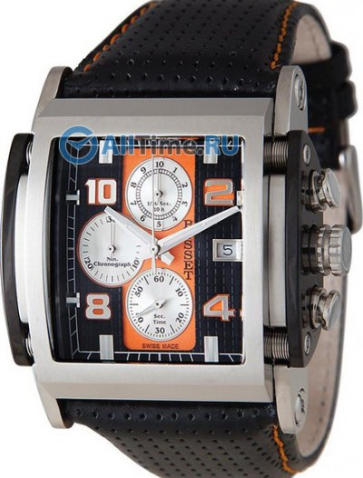 Мужские наручные швейцарские часы в коллекции Multifunction Bisset