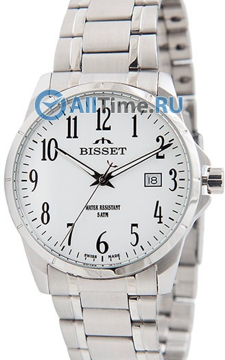 Мужские наручные швейцарские часы в коллекции Classic Bisset