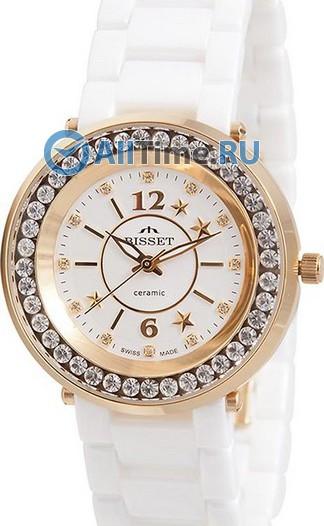 Женские наручные швейцарские часы в коллекции Ceramic Bisset