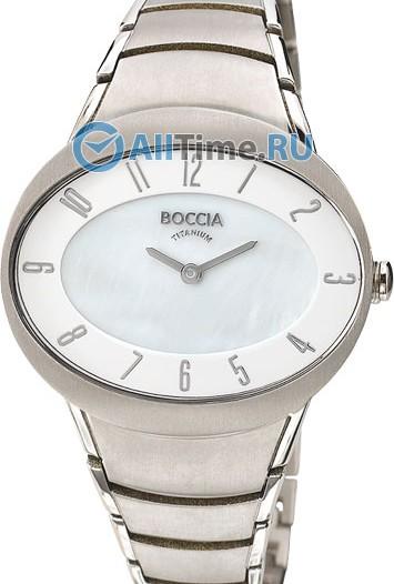 Женские наручные немецкие часы в коллекции Circle-Oval Boccia Titanium