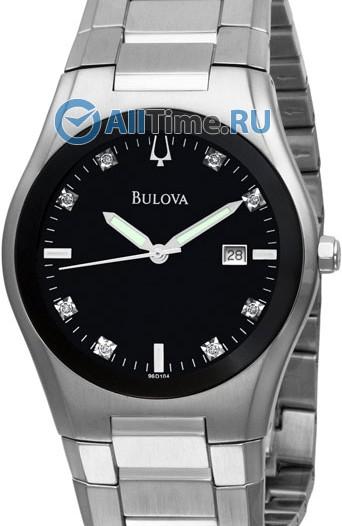 Мужские японские наручные часы в коллекции Diamond Bulova