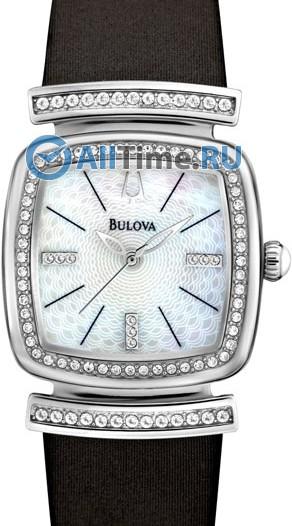 Женские японские наручные часы в коллекции Crystal Bulova
