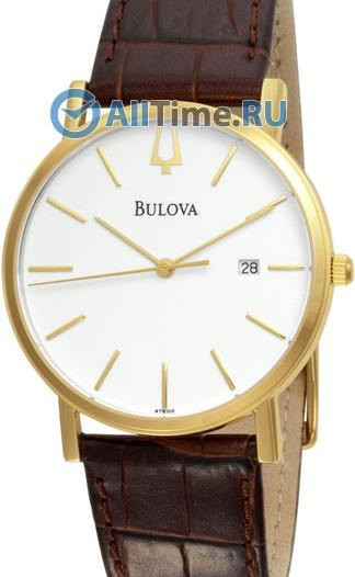 Мужские японские наручные часы в коллекции Dress Bulova