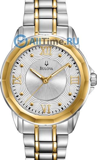 Женские японские наручные часы в коллекции Dress Bulova