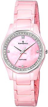 Швейцарские наручные  женские часы Candino C4351.3. Коллекция Ceramic