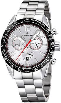 Швейцарские наручные  мужские часы Candino C4429.A. Коллекция Sportive