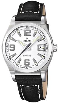 Швейцарские наручные  мужские часы Candino C4439.7. Коллекция Sportive