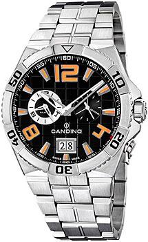 Швейцарские наручные  мужские часы Candino C4450.4. Коллекция Sportive
