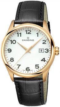 Швейцарские наручные  мужские часы Candino C4457.1. Коллекция Class