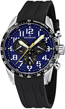 Швейцарские наручные  мужские часы Candino C4472.3. Коллекция Sportive