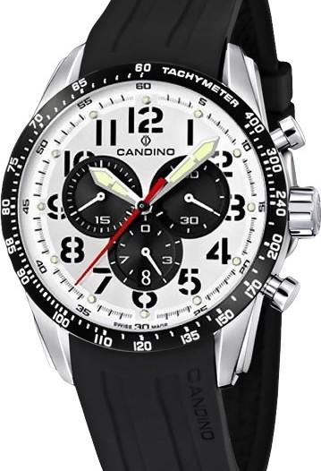 Мужские наручные швейцарские часы в коллекции Chronograph Candino