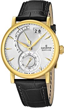 Швейцарские наручные  мужские часы Candino C4486.1. Коллекция Class