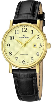 Швейцарские наручные  женские часы Candino C4490.1. Коллекция Class
