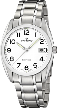 Швейцарские наручные  мужские часы Candino C4493.1. Коллекция Class