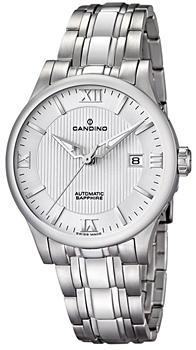 Швейцарские наручные  мужские часы Candino C4495.2. Коллекция Automatic