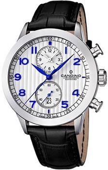 Швейцарские наручные  мужские часы Candino C4505.1. Коллекция Elegance