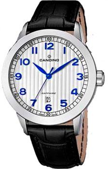 Швейцарские наручные  мужские часы Candino C4506.1. Коллекция Elegance