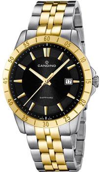 Швейцарские наручные  мужские часы Candino C4514.2. Коллекция Street Rider