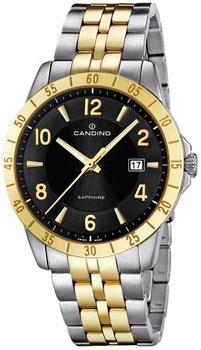 Швейцарские наручные  мужские часы Candino C4514.4. Коллекция Street Rider