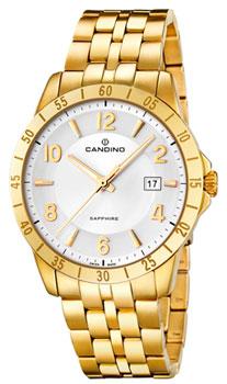 Швейцарские наручные  мужские часы Candino C4515.4. Коллекция Elegance