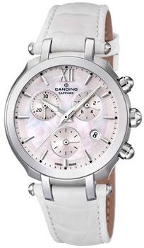 Швейцарские наручные  женские часы Candino C4521.1. Коллекция Sportive