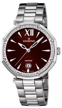 Швейцарские наручные  женские часы Candino C4525.3. Коллекция Elegance