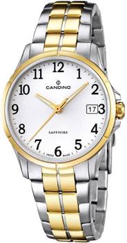 Швейцарские наручные  женские часы Candino C4534.4. Коллекция Elegance
