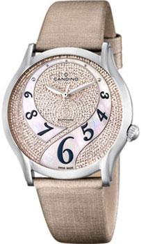 Швейцарские наручные  женские часы Candino C4551.1. Коллекция Timeless