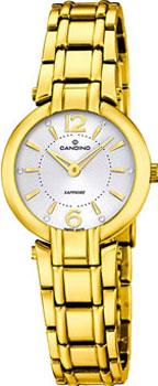 Швейцарские наручные  женские часы Candino C4575.1. Коллекция Classic