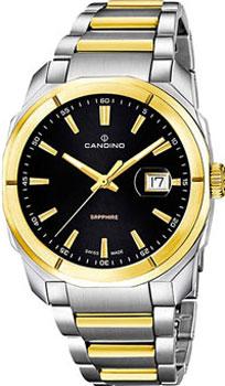 Швейцарские наручные  мужские часы Candino C4587.2. Коллекция Classic