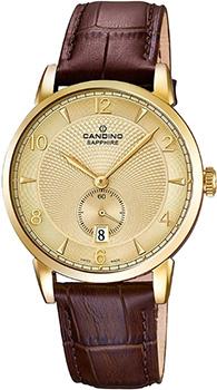 Швейцарские наручные  мужские часы Candino C4592.4. Коллекция Classic
