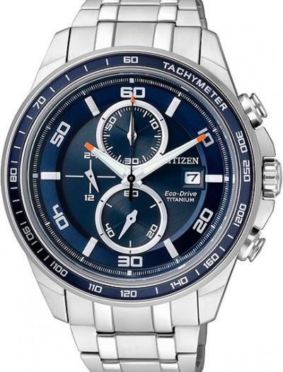 Мужские японские наручные часы в коллекции Super Titanium Citizen
