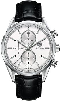 Швейцарские наручные  мужские часы TAG Heuer CAR2111.FC6266. Коллекция Carrera