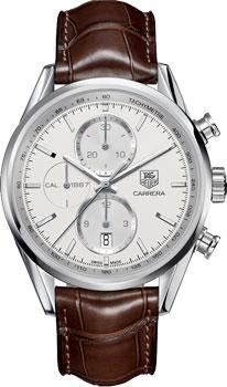 Швейцарские наручные  мужские часы TAG Heuer CAR2111.FC6291. Коллекция Carrera