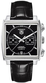 Швейцарские наручные  мужские часы TAG Heuer CAW2110.FC6177. Коллекция Monaco