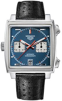 Швейцарские наручные  мужские часы TAG Heuer CAW211A.EB0026. Коллекция Monaco