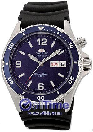 Мужские японские наручные часы в коллекции Diver Orient