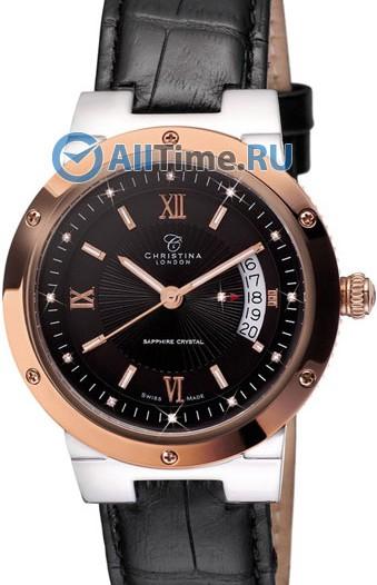 Мужские наручные швейцарские часы в коллекции Circle-Oval Christina London