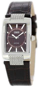 Швейцарские наручные  женские часы Cover CO102.09. Коллекция Ladies