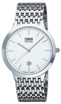 Швейцарские наручные  мужские часы Cover CO123.02. Коллекция Gents