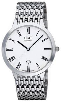 Швейцарские наручные  мужские часы Cover CO123.03. Коллекция Gents